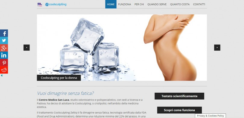 Coolsculpting Clinica Medica San Luca